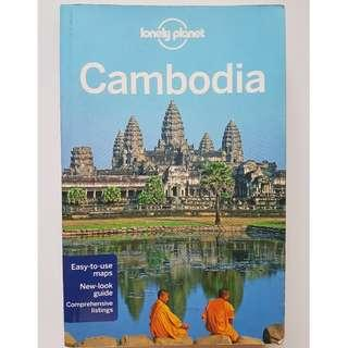Lonely Planet Cambodia travel guide 8th edition 2012