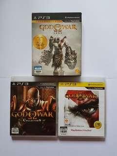 God of War Collection (I,II,III) PS3 Original CD Game