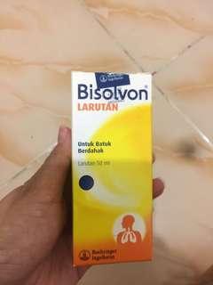 Bisolvon (Inhalasi/Nebuliser/uap)