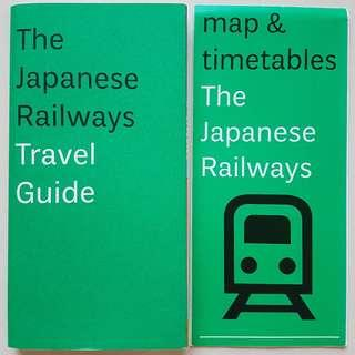 The Japanese Railways Travel Guide with Maps and Timetable insert 9/2013