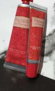 L'Occitane Roses Hand Cream & Lip Balm
