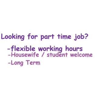 Part time packer needed $6/hour Flexi working hours