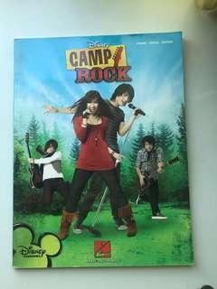 🚚 Camp Rock Piano/Vocals/Guitar scores