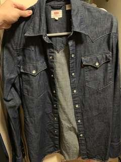 Levi's 牛仔襯衫