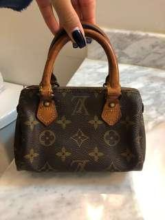 Authentic vintage Louis Vuitton mini speedy bag