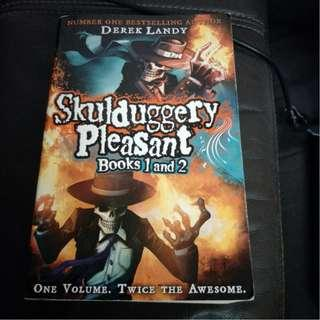 Pre - Loved Skulduggery Pleasant #1 & #2 (Playing with Fire) - Omnibus : Two Books in One by Derek Landy [Paperback]