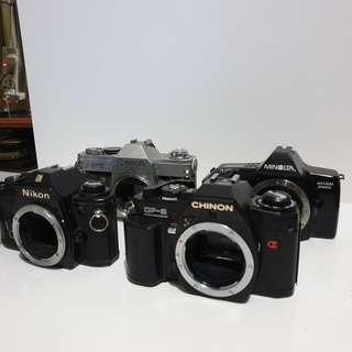 Untested/Faulty SLR film cameras