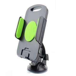 全新車用電話平板座 可放約4.3-7.8吋平板/電話 #綠色