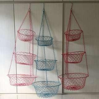 3-tier eggs basket