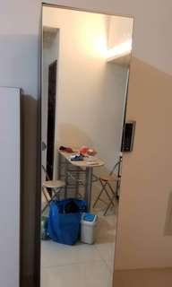 IKEA鏡面式衣櫃 9成新