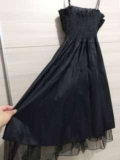🚚 晚禮服下擺蕾絲洋裝