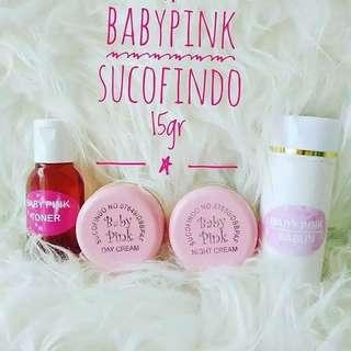 BABY PINK WHITENING CREAM