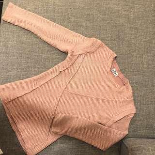 Korean pink sweater