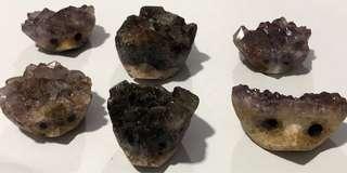 Crystal hedgehog (4-5cm)