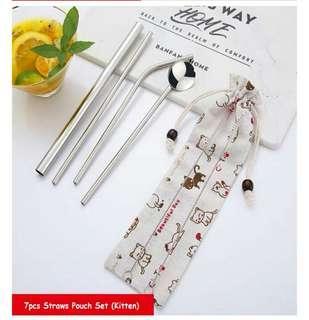 🚚 Eco friendly stainless steel straw