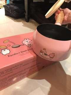 🚚 卡娜赫拉的小動物時尚單把鍋 粉色
