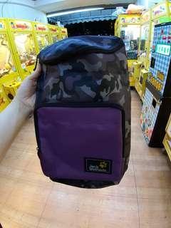 🚚 紫色迷彩小背包,全新