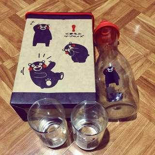 🚚 熊本熊 水壺 水杯