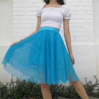 🚚 Blue Belle Tulle Skirt