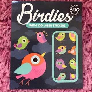 🚚 300 Mini Stickers <Birdies>