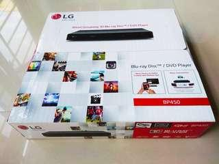 LG BP450 -  wired streaming 3D blue ray disc/ DVD player BP450