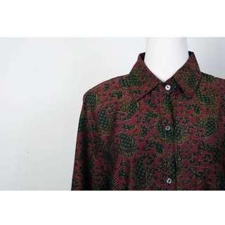 🚚 ::FlowerHolic:: Vintage 古著長袖襯衫 227
