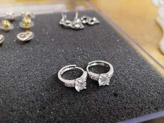 #STB50 Silver earrings