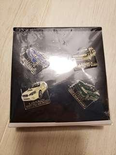 Subaru 20 year pin