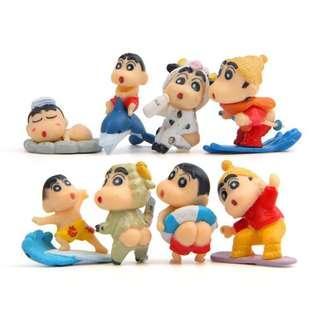 🚚 Crayon Shinchan Terrarium Figurines