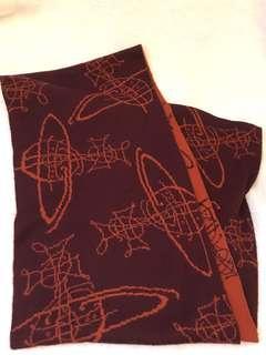 二手Vivienne Westwood scarf 頸巾