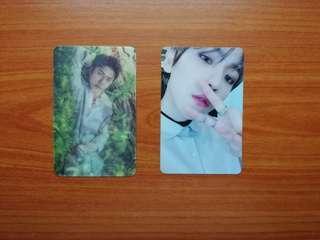 Baekhyun moderato pc and sehun nr lenticular pc