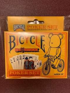 BE@RBRICK 庫柏力克熊 撲克牌(魔術/收藏)