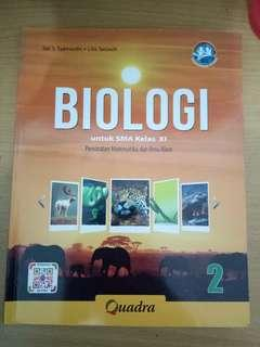 Biologi SMA Kelas XI (QUADRA)