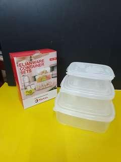 Elianware Tupperware Sets of 3 #MMAR18