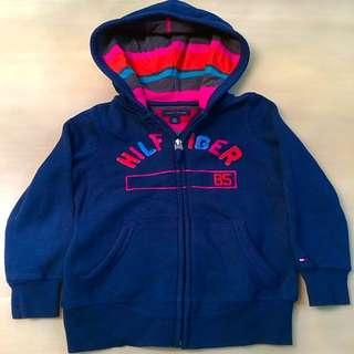 7681f822 BN 👦TOMMY HILFIGER👦 Authentic Boys' Long Sleeve Navy Blue Jacket/ Sweater  with