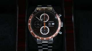 🚚 Tag Heuer Carrera Calibre 16 Brown Theme