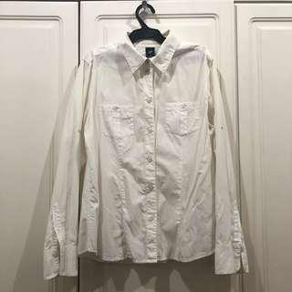 Gap Buttondown Off-White Shirt
