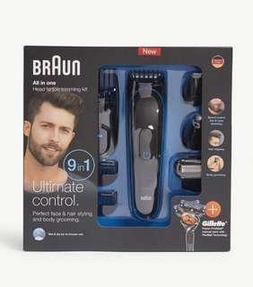 Braun complete nine-in-one grooming kit