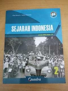 Sejarah Indonesia SMA Kelas XI (QUADRA)