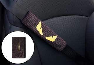 🚚 Supreme Monster Car Seatbelt Strap Cover