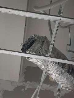 Aircon ducting work