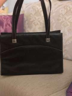💯 Polo Ralph Lauren Leather Bag