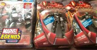 Marvel Legends Ultron Iron Man Titanium Man