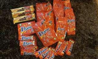Daim chocolates