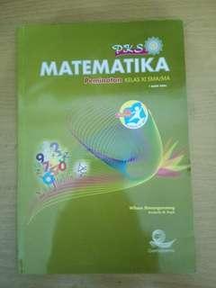Matematika Peminatan Kelas XI SMA/MA (Gematama)