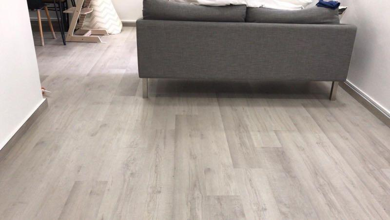 5mm Click high scratch and water & stains resistance Vinyl Flooring