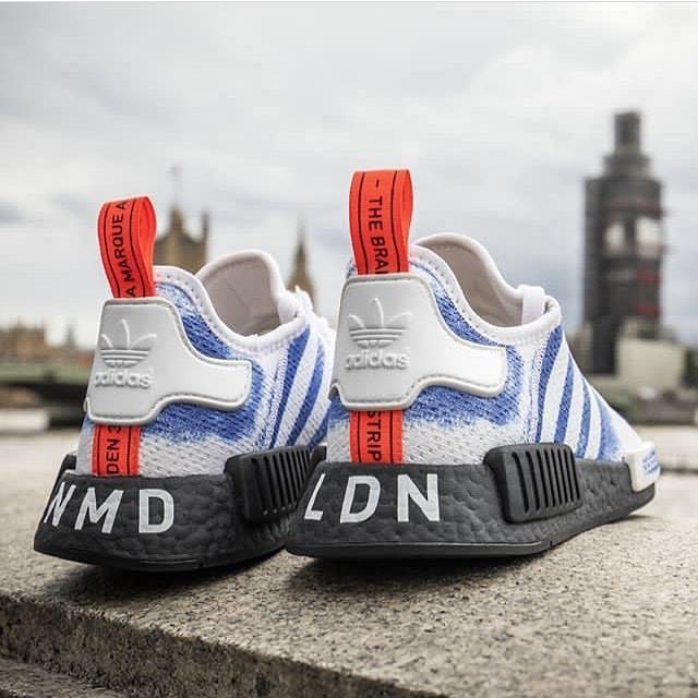 adidas NMD R1 London Laufschuhe (Blau) G28997