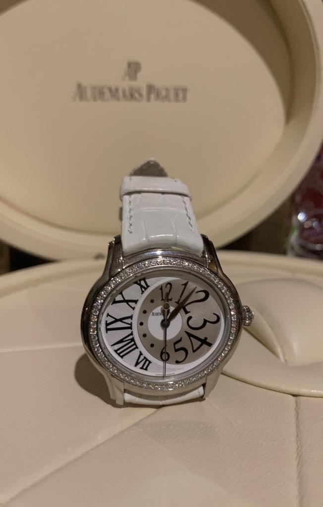 AP Millenary 39mmx35,5mm Stell Diamond Ring Automatic 2010 112 (Retail Price 230jt)