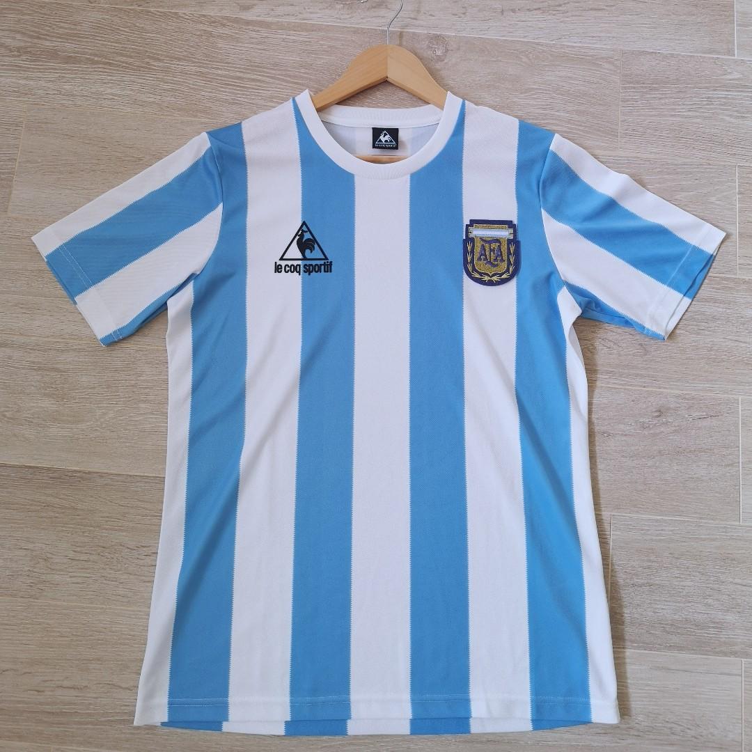 e33c30cca63 Argentina 1986 World Cup Retro Jersey - Home