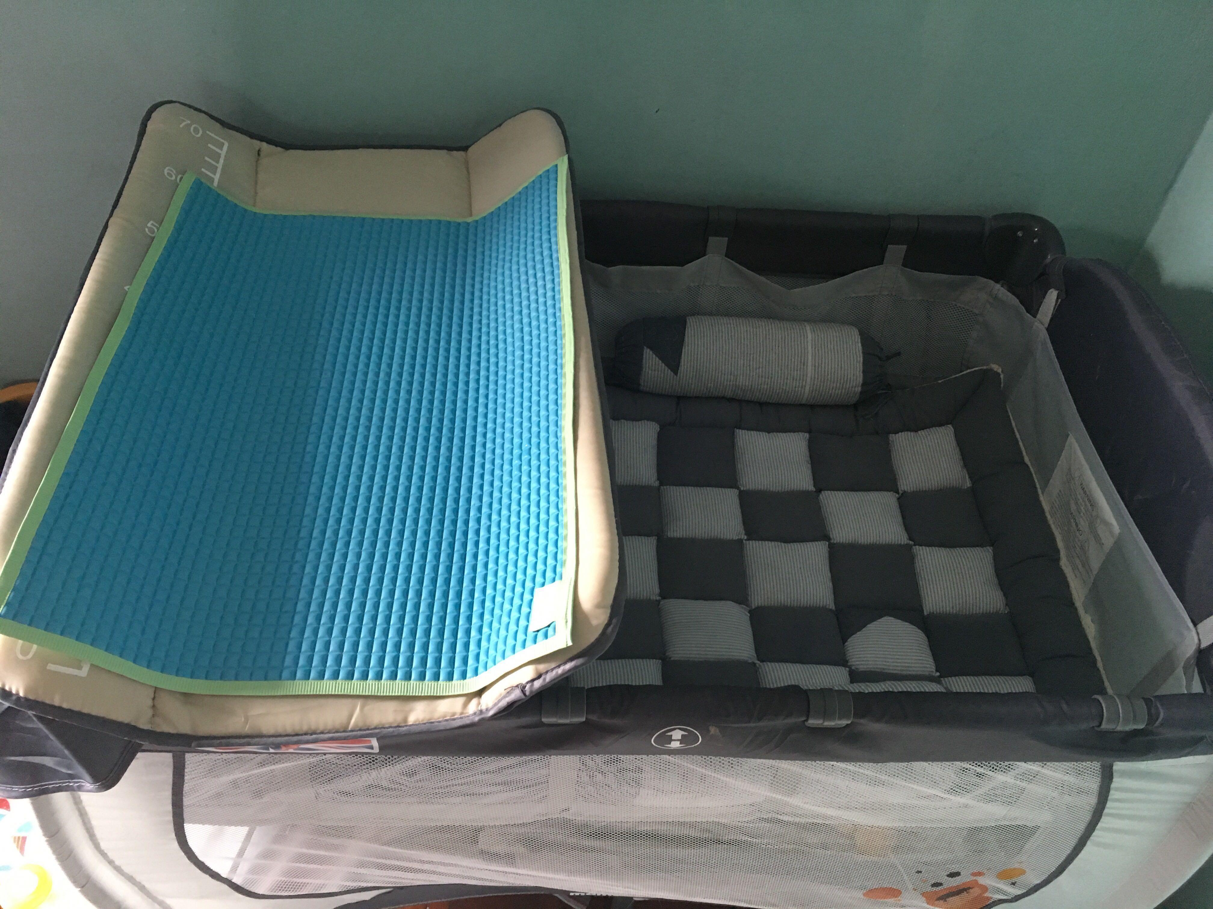 Baby bed cum playpen